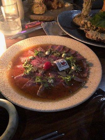 Wagyu raw slices