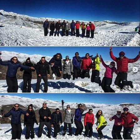 Alfatur Chile: 🇧🇷❄ Ao olhar para estas fotos você pode ver o quanto você pode se divertir com novos amigos e a bela e branca neve, a Alfatur dá-lhe a oportunidade de viver momentos inigualáveis. O que está esperando? ❄🇧🇷