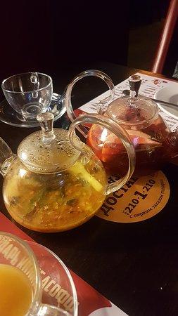 Kolbasoff: Облепиховый чай и чай грейпфрут-клюква