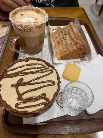 Boa opção de café no shopping