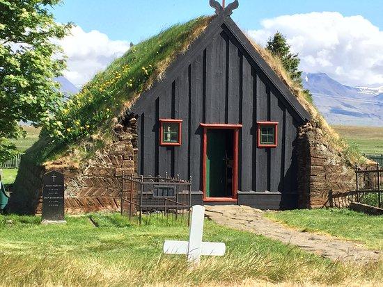 Víðimýrarkirkja Church: Vioimyrarkirkja exterior