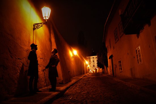 Prague Telltale Takes you to the less traveled streets, and finds the supernatural in the cracks in between.