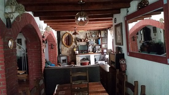 Castilla - Leon, İspanya: Salón / Chimenea