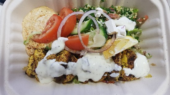 Betsia Kebabs and Chargrilled Burgers: Friday lunch delivered, yumm!