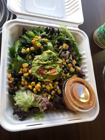 Volcano Flow Salad, Aloha Ansley Hawaiian Fusion, Largo , Florida
