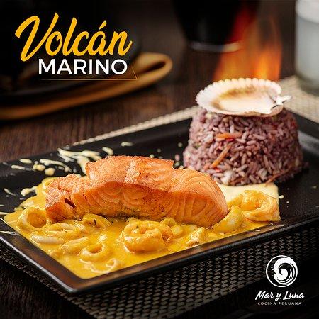 Mar y Luna Cocina Peruana: Volcán Marino
