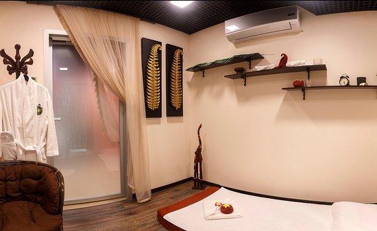 Иньтерьеры массажных кабинетов сохраняют аутентичность настоящего тайского салона