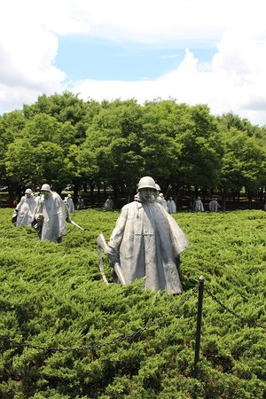 National Mall: Korean War Veterans Memorial