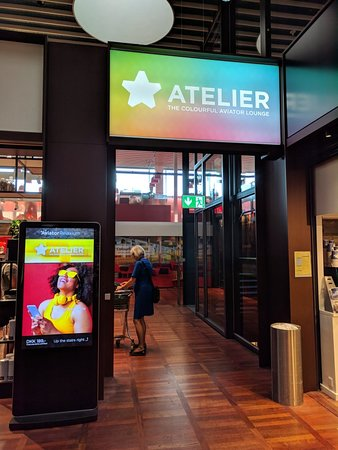 Atelier - The Colorful Aviator lounge