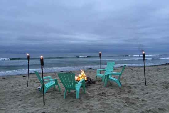 Beach And Bay Bonfires