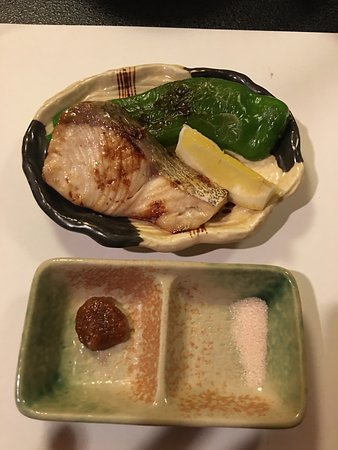 Gion Kyo Cuisine Hanasaki: The grilled fish, nice