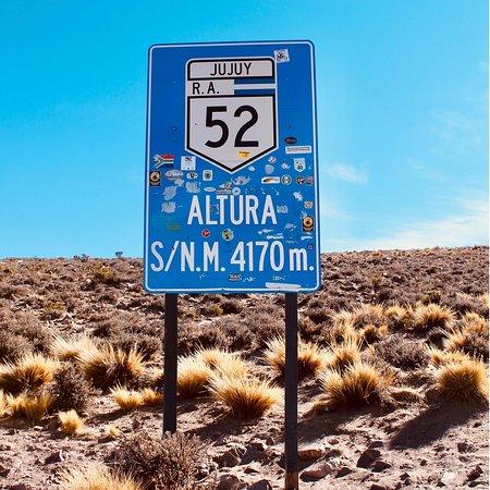 Province of Jujuy, Argentinien: Se siente algo distinto alli arriba...