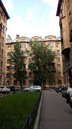 Hotel Onegin: Питерские дворы)