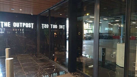 The Outpost Hotel Sentosa by Far East Hospitality: こじんまりとしたエントランス