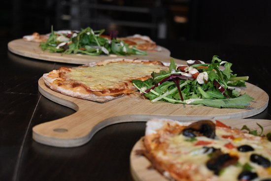 Trio of Lunch Pizzas