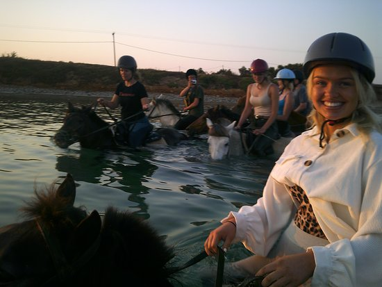 Kokou Horse Riding Center: our sunrise tour at 5hr45 AM