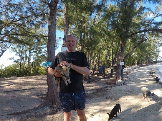 Tyman Fishing Charters: Feeding & Holding the Pigs