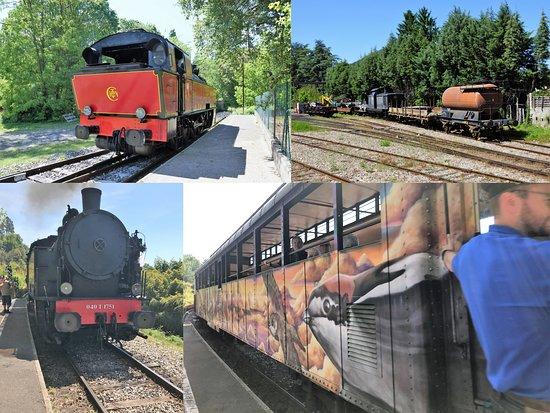 Locomotive et wagons