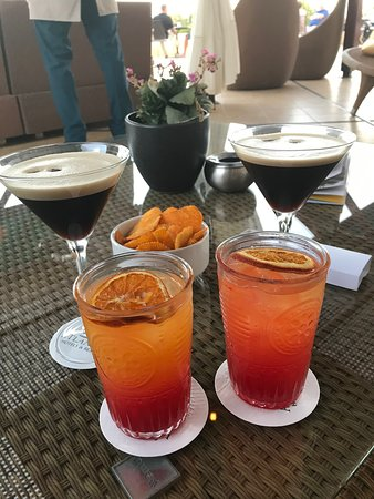 Loving the cocktails