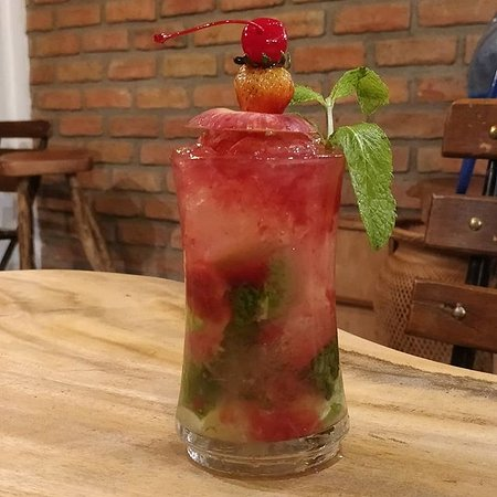 Casa Cocotte Palomino: Mojito frutos rojos