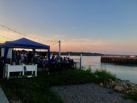 Fishermen's View: summer sunset