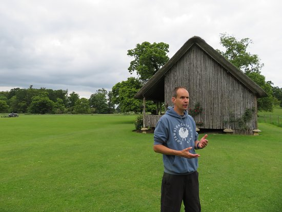 Richard discusses the Stanway Cricket Pavillon.