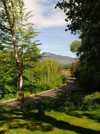 Mount Mansfield: View from Hob Knob Inn