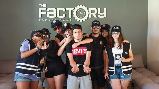 The Factory Escape Game