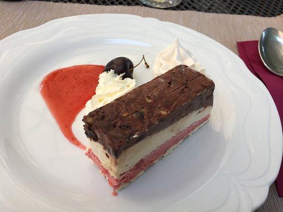 Bunzen, سويسرا: Dessert Vacheringlace