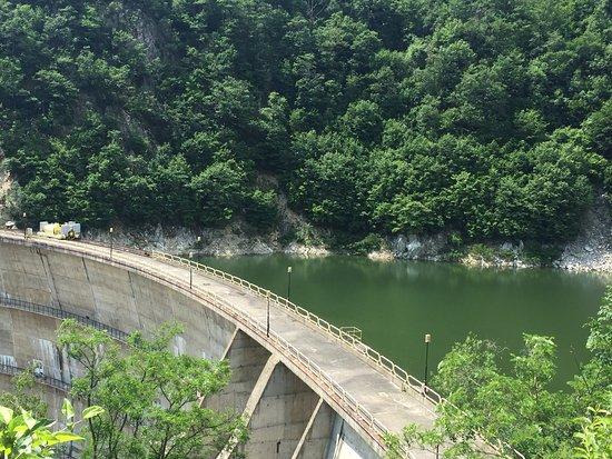 The dam on the Cerna river