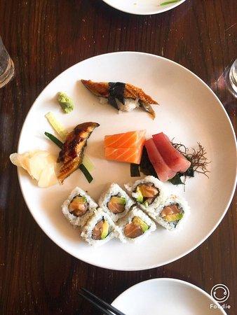 Excellent sushi restaurant
