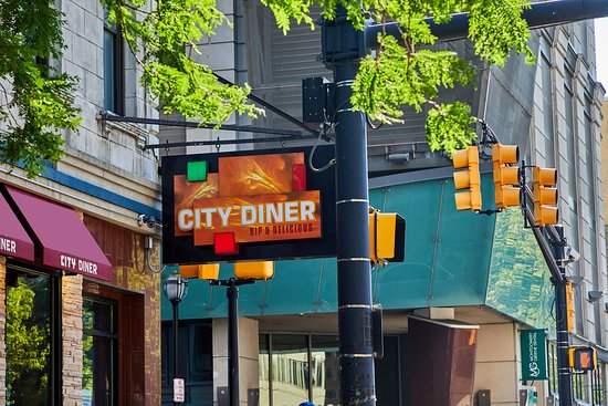 City Diner: Always Open stop by for a bite!