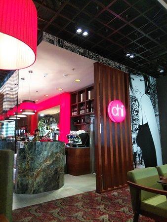ショッピングセンター内のレストラン(カフェ。バー)「CHI」