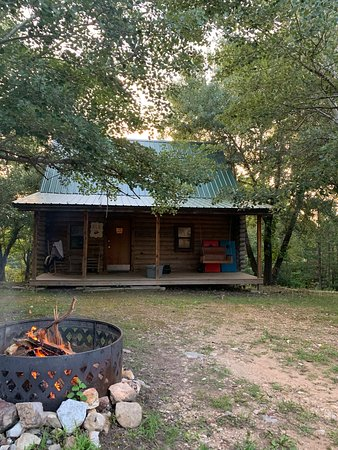Elk Cabin and fire pit