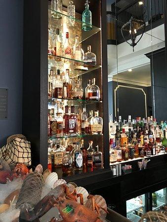 Simeon's On the Commons: Bourbon selection
