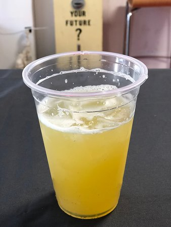 Cold pressed sugar cane juice