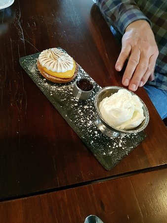 The Abbey: Tart of the day . Apple