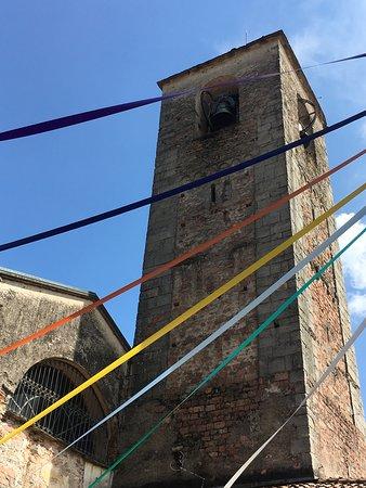 Badia di san Gemolo: il campanile