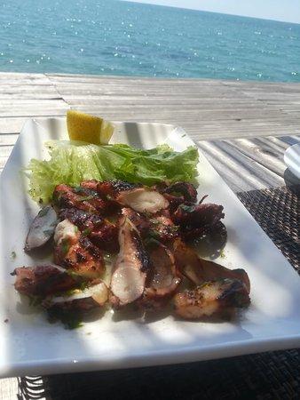 Karpen, ألبانيا: Restaurant at the Island