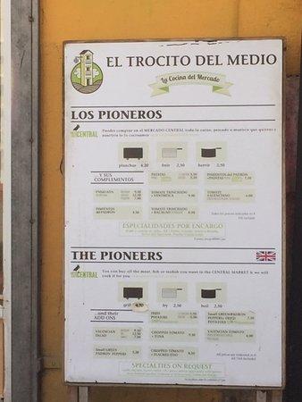 Plaza del Mercado (Placa del Mercat): El trocito del medio