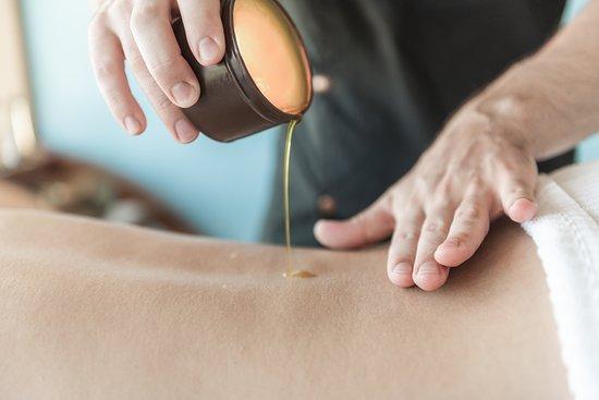 Candel massage.