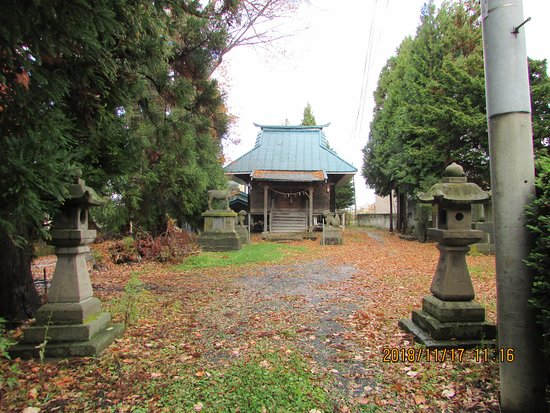 Shimmeigu Shrine and The Site of Takabatake Castle