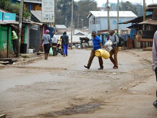 Kibera: A road of Kibera