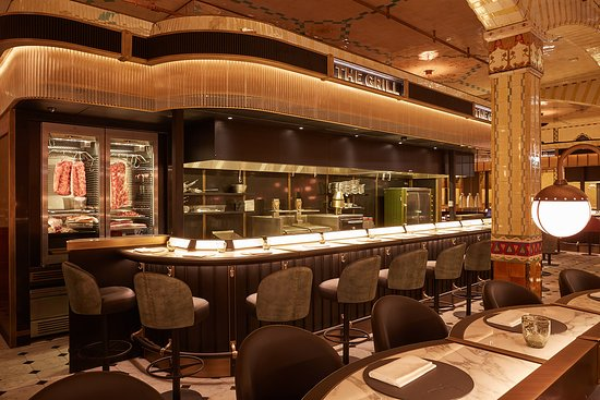 THE GRILL - HARRODS, London - Updated 2019 Restaurant