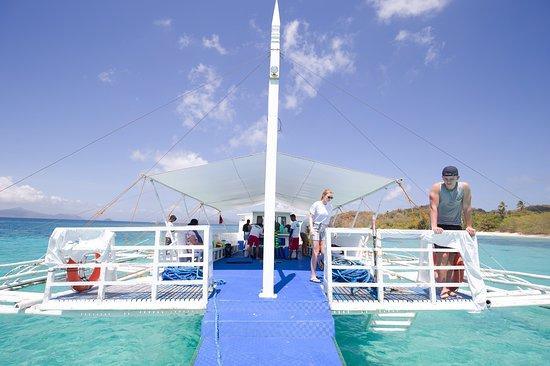 Keelooma: Island hopping aboard Keelooma's boat