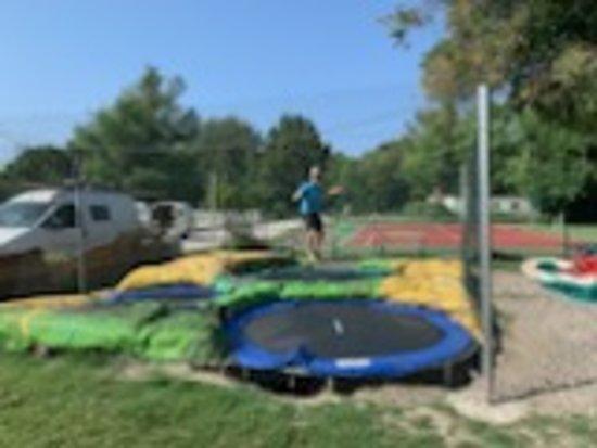 Le trampoline parc cool