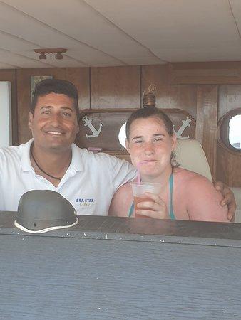 Sea Star half day cruise.