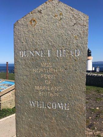 Dunnet Head marker
