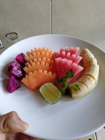 The fruits salad special from Kedai ubud