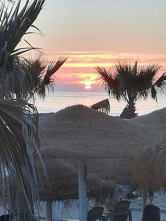 Fonte Diaz, Spanje: Pôr do sol magnífico